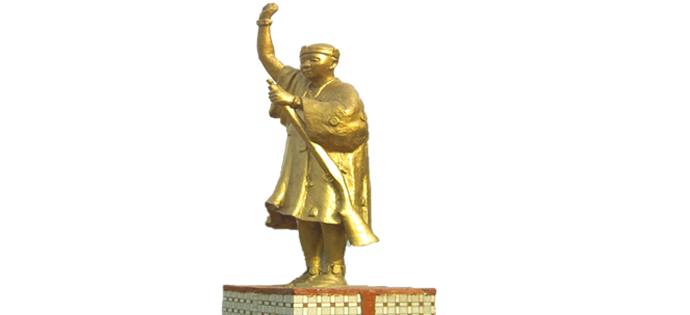 YAA ASANTEWAA STATUE (SIDE VIEW)